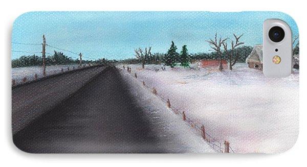 Country Road IPhone Case by Anastasiya Malakhova