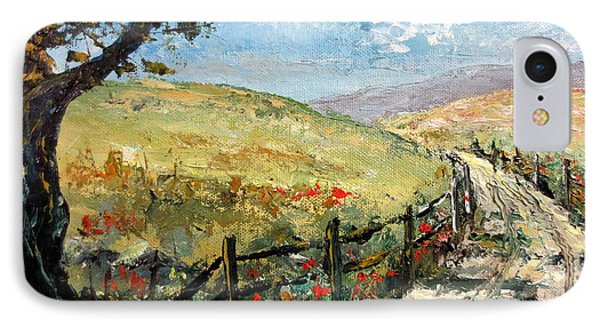 Country Road Phone Case by Lee Piper