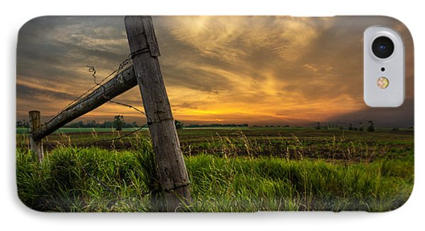 Country Sunrise IPhone Case by Aaron J Groen