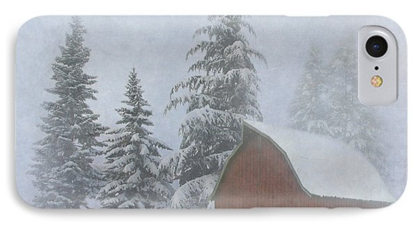 Country Winter Phone Case by Angie Vogel