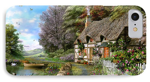 Countryside Cottage IPhone Case by Dominic Davison
