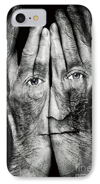 Cover Thy Faces IPhone Case by Gary Keesler