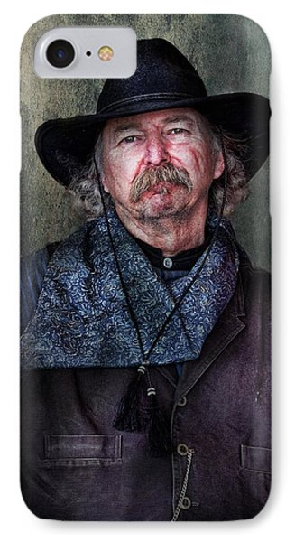 Cowboy Phone Case by Barbara Manis