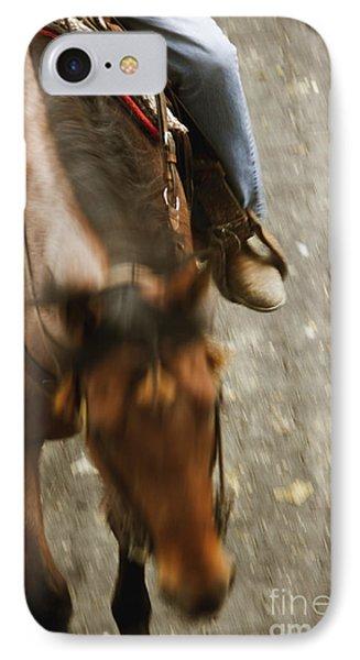 Cowboy Phone Case by Margie Hurwich