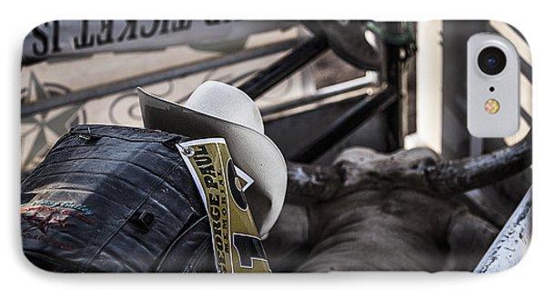 Cowboy Up Phone Case by Amber Kresge