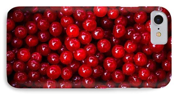 Cranberries - 1 IPhone Case by Alexander Senin
