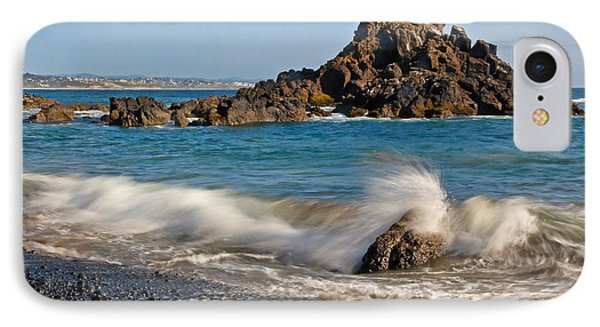 Crashing Of The Waves Phone Case by Athena Mckinzie
