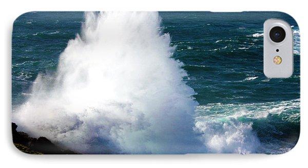 Crashing Wave Phone Case by Terri Waters