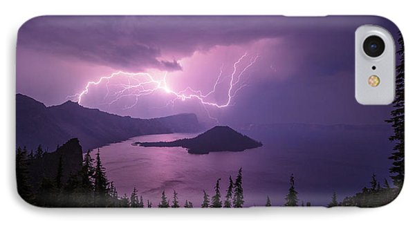 Crater Storm Phone Case by Chad Dutson