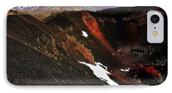 Craters Of The Moon Phone Case by Benjamin Yeager