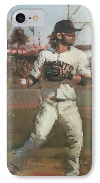 Crawford Day Game IPhone Case by Darren Kerr