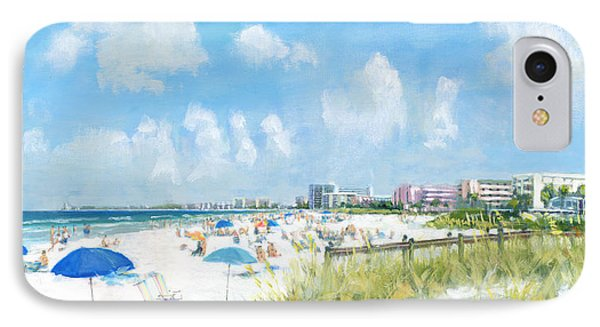 Crescent Beach On Siesta Key IPhone Case by Shawn McLoughlin