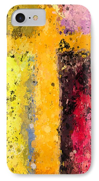 Cross Abstract Iv  IPhone Case by Heidi Smith