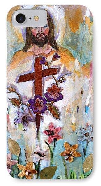 Cross Of Christ Phone Case by Mary Spyridon Thompson