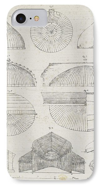 Cross Sections Of Greenhouses IPhone Case by British Library