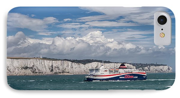 Crossing The English Channel IPhone Case by Tim Stanley
