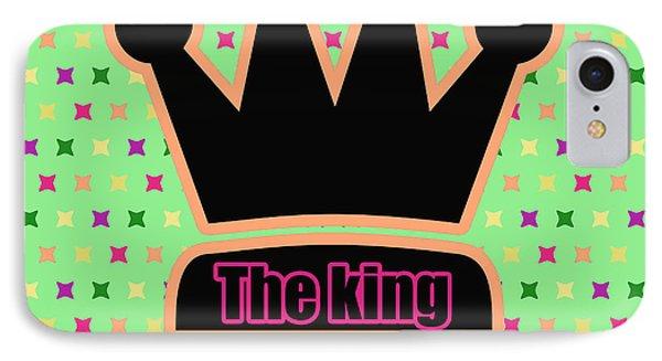 Crown In Pop Art Phone Case by Toppart Sweden
