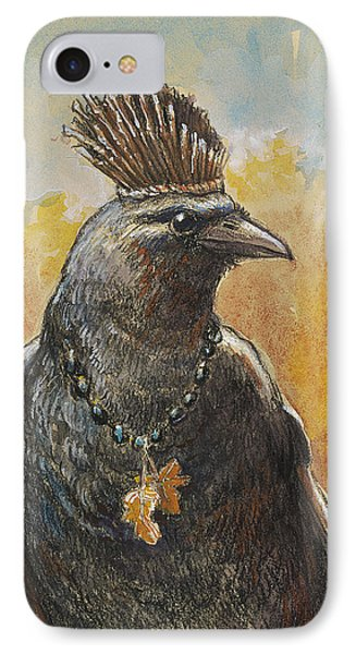Crown Of Twigs IPhone Case by Tracie Thompson