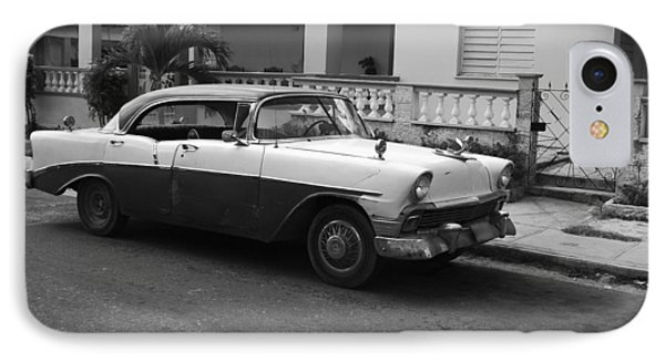 Cuban Car Phone Case by Norman Pogson
