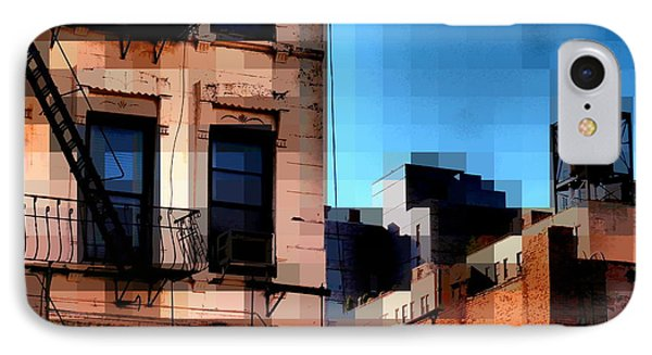 Up On The Roof Phone Case by Miriam Danar