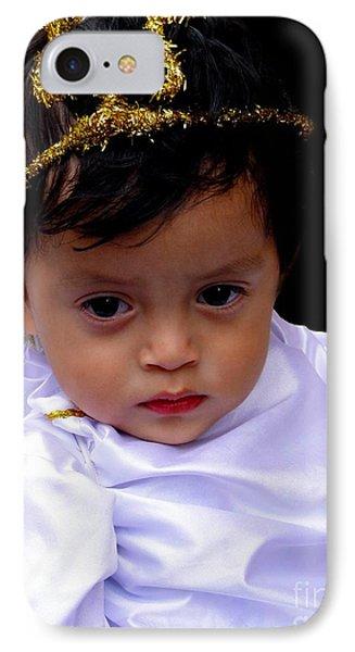 Cuenca Kids 329 IPhone Case by Al Bourassa