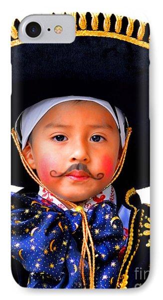 Cuenca Kids 358 IPhone Case by Al Bourassa