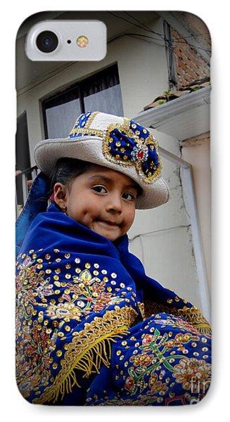 Cuenca Kids 422 IPhone Case by Al Bourassa