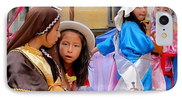 Cuenca Kids 436 IPhone Case by Al Bourassa