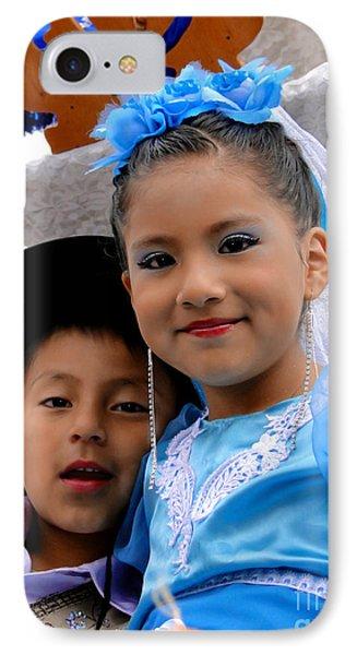 Cuenca Kids 470 IPhone Case by Al Bourassa