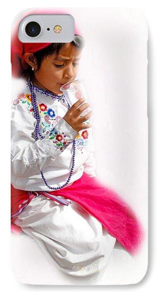 Cuenca Kids 507 IPhone Case by Al Bourassa