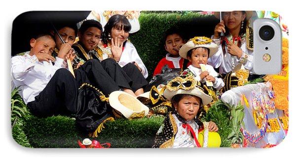 Cuenca Kids 516 IPhone Case by Al Bourassa