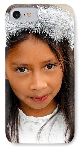 Cuenca Kids 542 IPhone Case by Al Bourassa