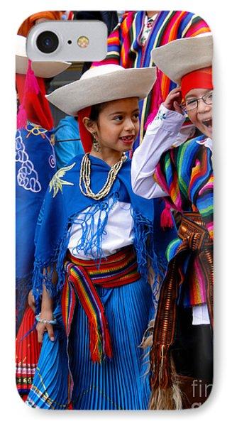Cuenca Kids 574 IPhone Case by Al Bourassa