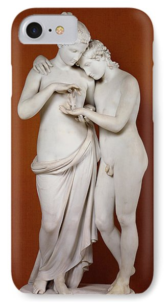 Cupid And Psyche IPhone 7 Case by Antonio Canova