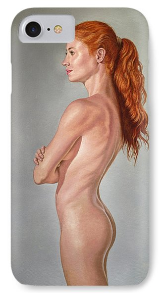 Curves IPhone Case by Paul Krapf