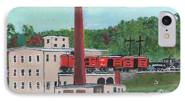 Cutler's Mill - Circa 1870 Phone Case by Cliff Wilson