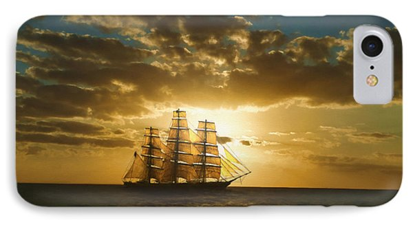 Cutty Sark IPhone Case by Dale Jackson