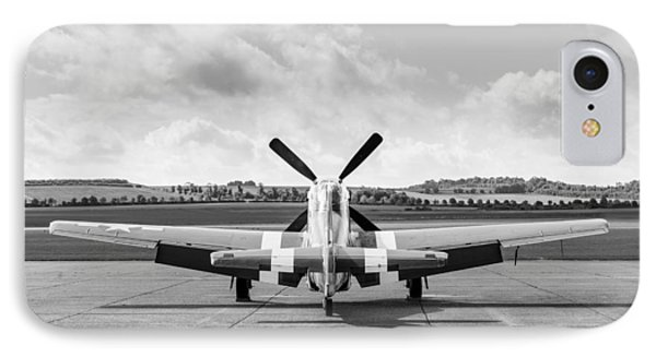 P-51 Mustang On Dispersal IPhone Case by Gary Eason
