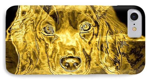 Dachshund Art Phone Case by Maria Urso