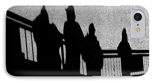 Dad And Three Boys Phone Case by Tom Gari Gallery-Three-Photography