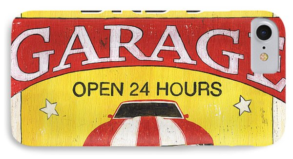 Dad's Garage IPhone Case by Debbie DeWitt