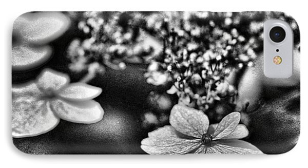 Dainty Black And White IPhone Case by Bellesouth Studio
