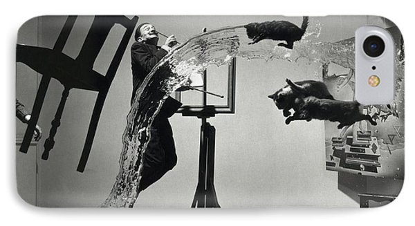 Dali Atomicus (1948) IPhone Case by Library Of Congress
