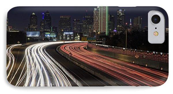 Dallas Night IPhone 7 Case by Rick Berk