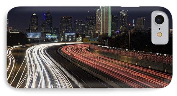 Dallas Night IPhone Case by Rick Berk