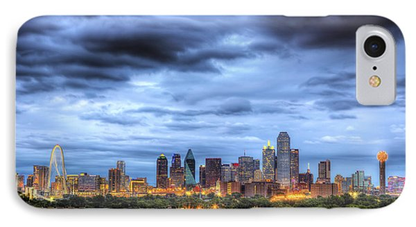 Dallas Skyline IPhone 7 Case by Shawn Everhart