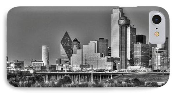 Dallas The New Gotham City  IPhone 7 Case by Jonathan Davison