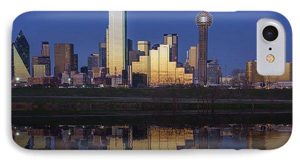 Dallas Twilight IPhone 7 Case by Rick Berk