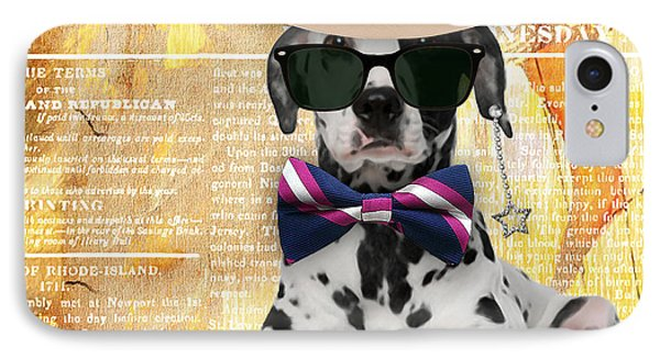 Dalmatian Bowtie Collection IPhone Case by Marvin Blaine