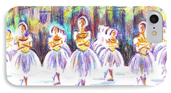 Dancers In The Forest II IPhone 7 Case by Kip DeVore